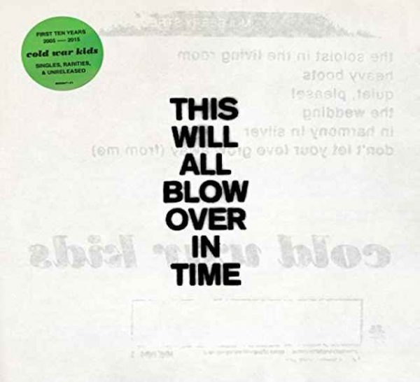 Vinyl LP - Cold War Kids - This will all blow over in time